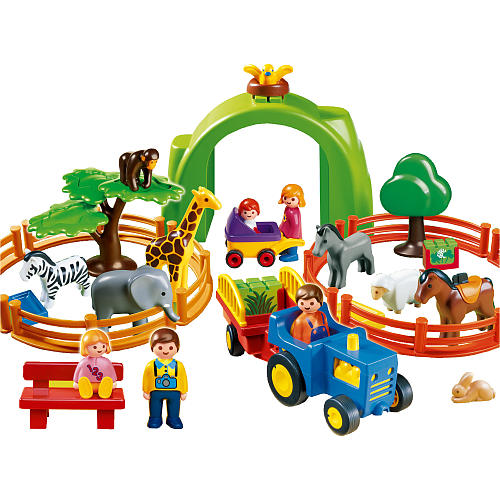 Playmobil 123 Playset – Large Zoo | Islands Wellness Society